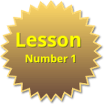 lesson number 1